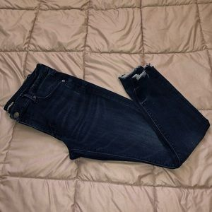 Ankle Legging Mid Rise Jeans
